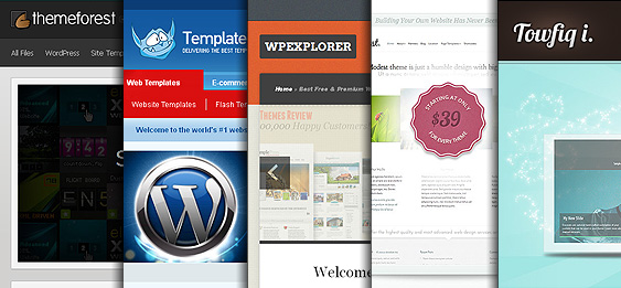 10 webs de plantillas para Wordpress
