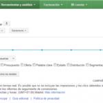Implementación en el historial de cambios de Google AdWords
