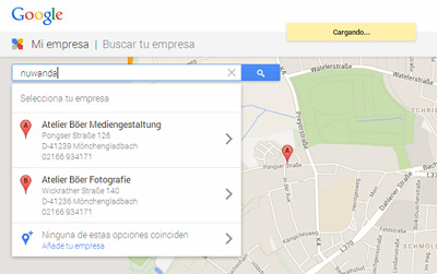 Google My Business- Places