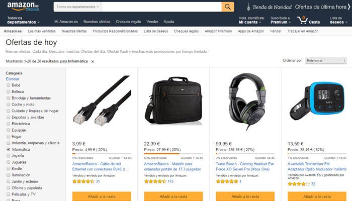 Amazon electrónica