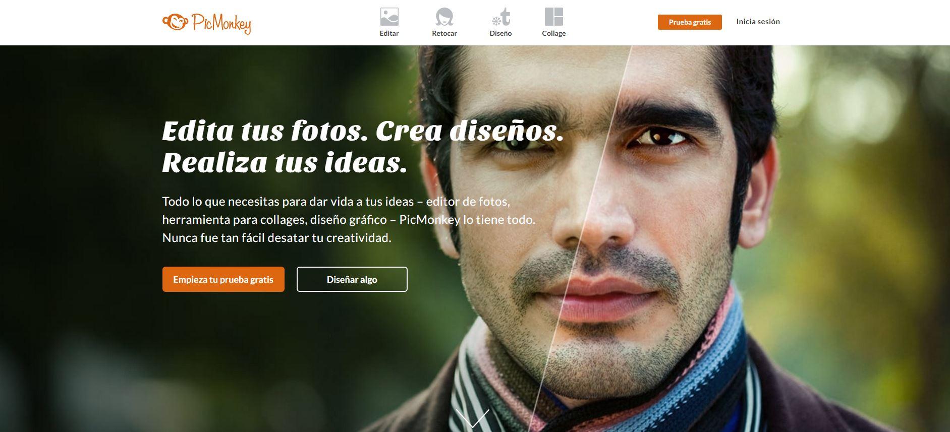 PicMonkey-crear imagenes online
