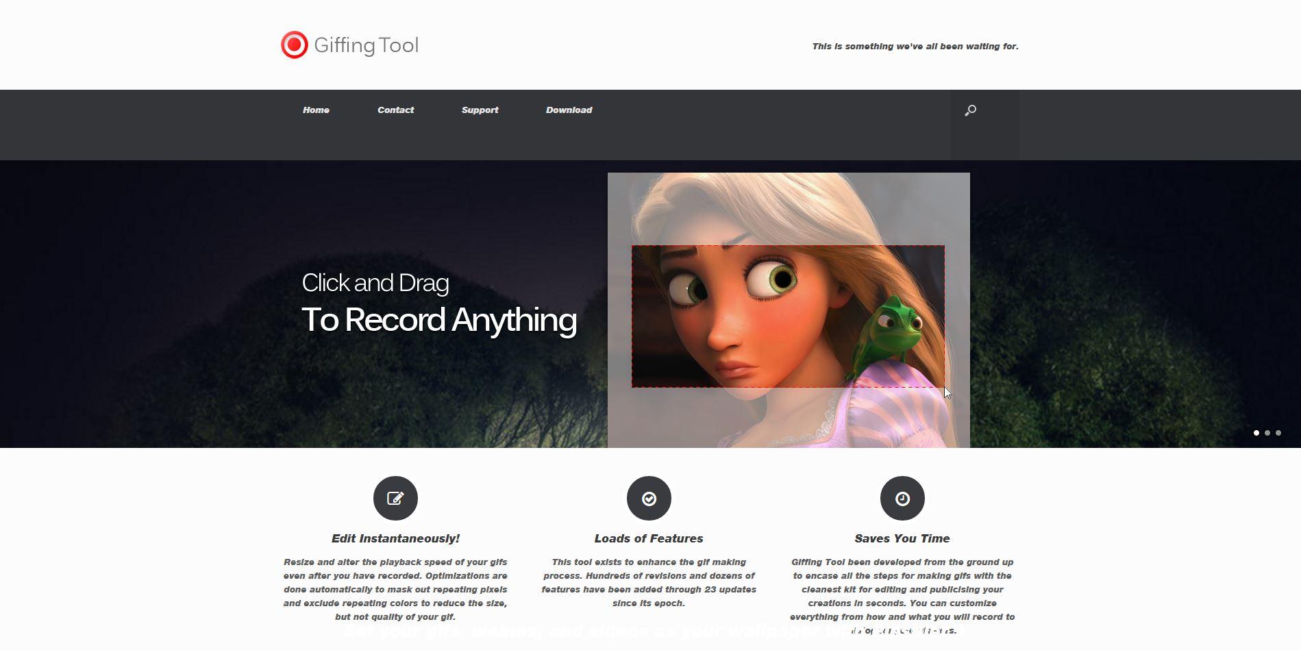 giffingtool-crear imagenes online