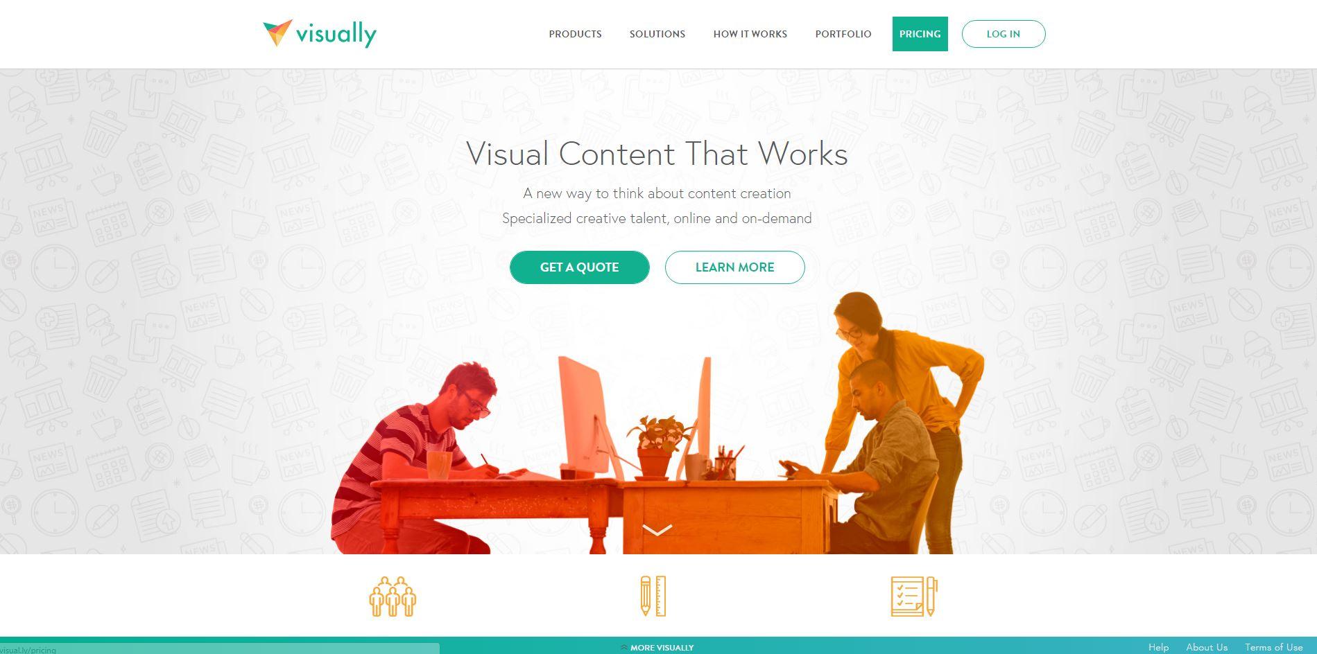 visaully-crear imagenes online
