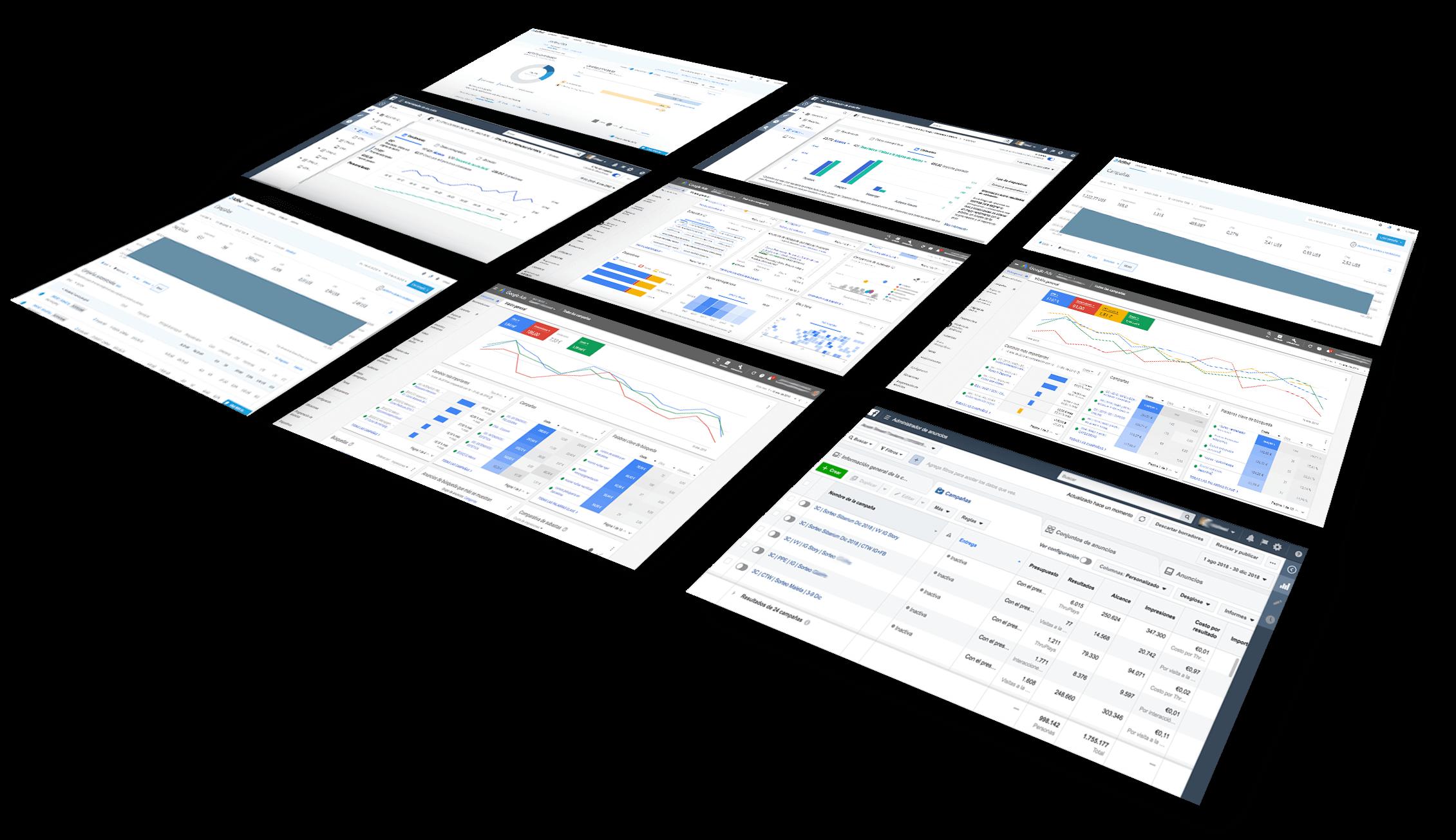 = control de los resultados de la inversión en publicidad digital