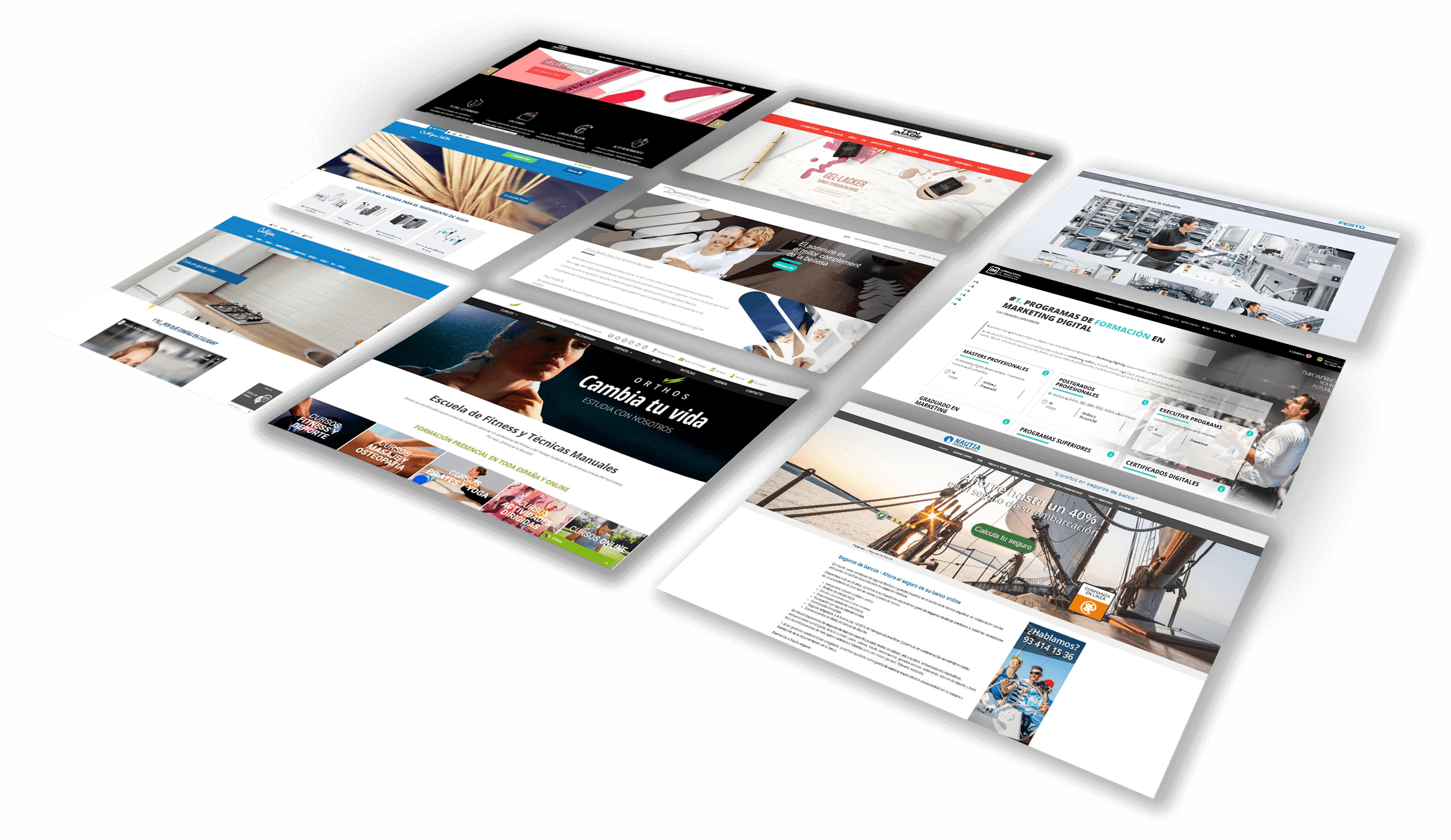 crear un site web para una empresa o analizar una pagina web